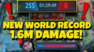 New Record 1.6 Million Damage | Mobile Legends Bang Bang