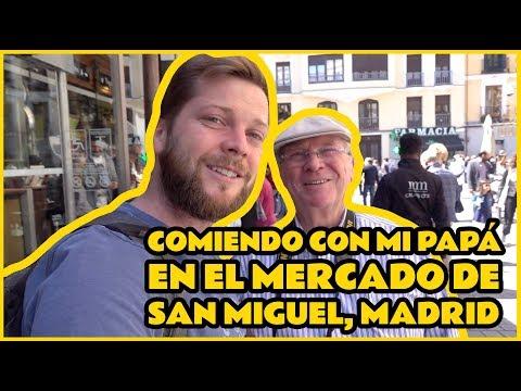 Comiendo Con Mi Papá En El Mercado De San Miguel, Madrid