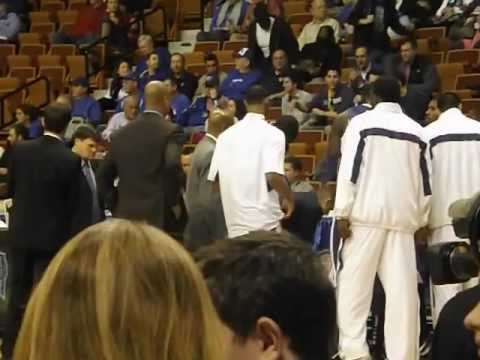 Washington Huskies men's basketball introductions vs Seton Hall