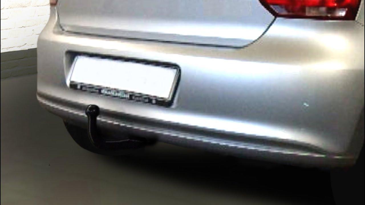Für Volkswagen Polo III 6N2 3//5-Tür Fließheck Anhängerkupplung starr ABE