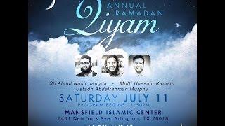 Qalam Annual Ramadan Qiyam 2015