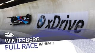 Winterberg | BMW IBSF World Cup 2017/2018 - Women's Bobsleigh Heat 2 | IBSF Official