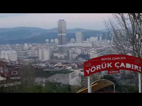 Çamlıca Tepesi ( Hill of Çamlıca) istanbul - Turkey