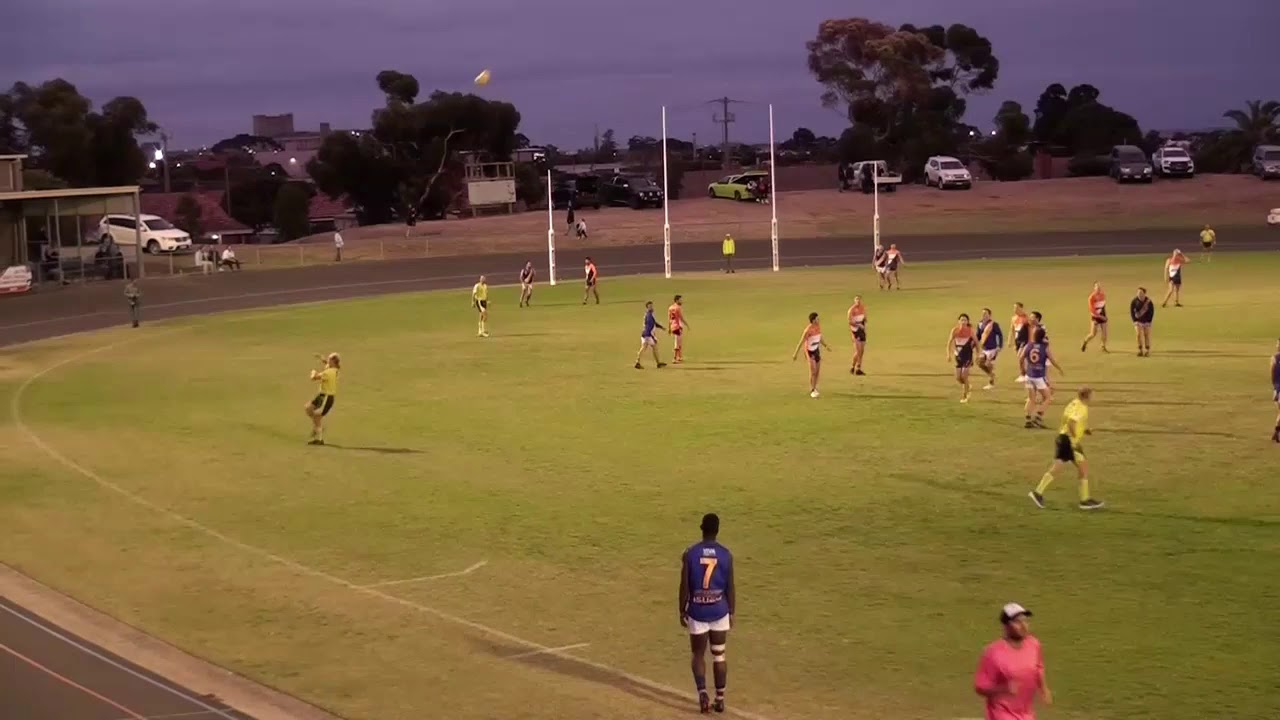 Rd 3 - Geelong West vs North Shore TI