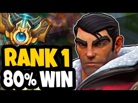 RANK 1 EU CHALLENGER WITH 80% WIN RATE - Son of Kasing's JAYCE Top - League of Legends