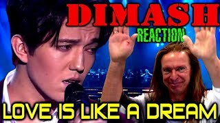 Vocal Coach Reacts To Dimash Kudaibergen | Love Is Like A Dream | Live | Ken Tamplin
