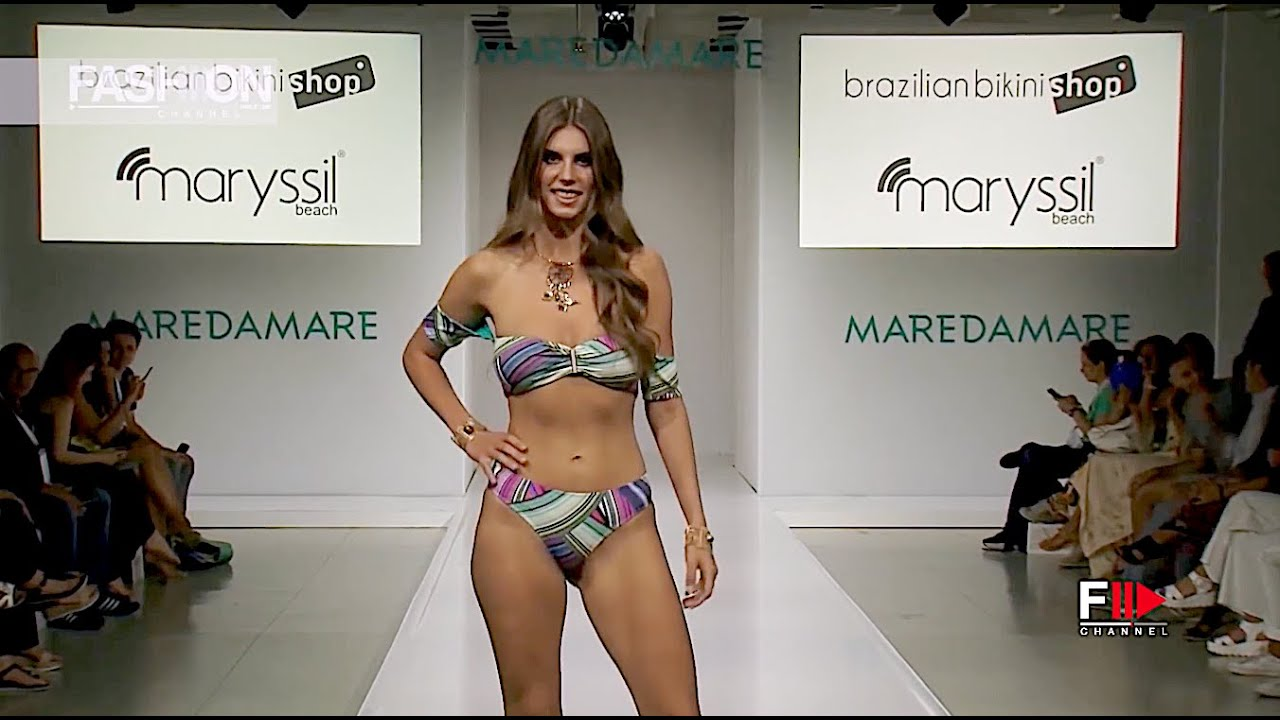 MARYSSIL Beach  - Tribute to Brazil SS 2019 Maredamare 2018 Florence - Fashion Channel