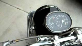 1965 Honda Black Bomber Restoration