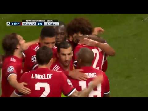 Manchester United-all Goals In Uefa Champions League Highlights