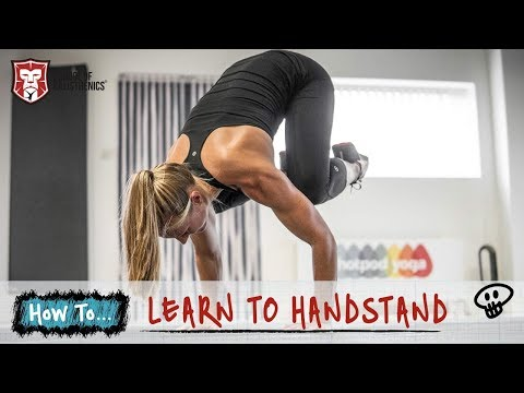 Learn To Handstand // School of Calisthenics
