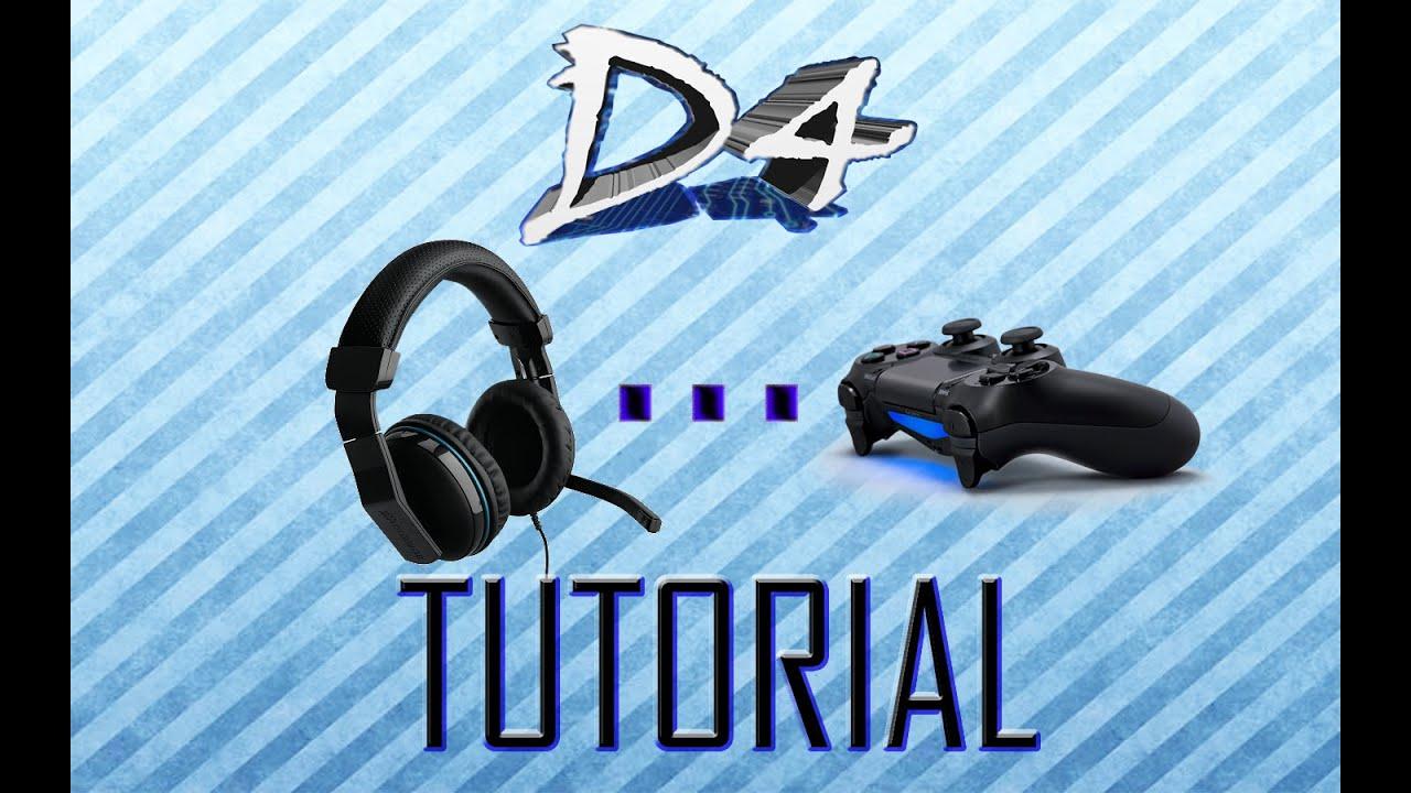 40735d35b82 Como usar cascos de audifonos y micrófono de PC en Ps4