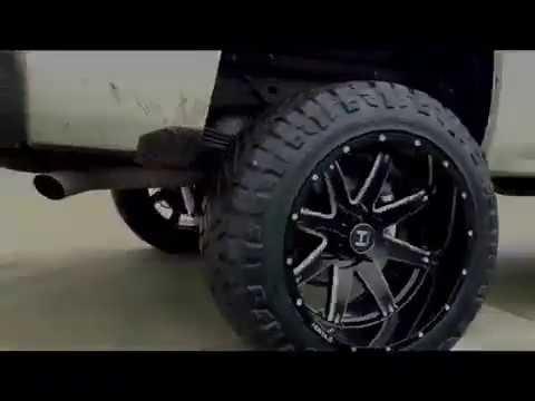 2014 Chevy Silverado 7 Quot Lift Hostile Alpha 22x12 Wheels