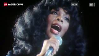 Donna Summer rehearsing for UNICEF concert (1979)