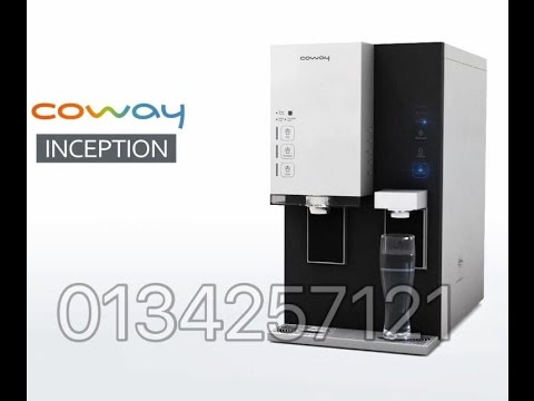Coway Inception 2-in-1 Alkaline Ionized & Nano Filter Water Purifier