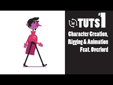 TnT Tuts - #1 - Character Creation, Rigging, & Animation Feat. Overlord