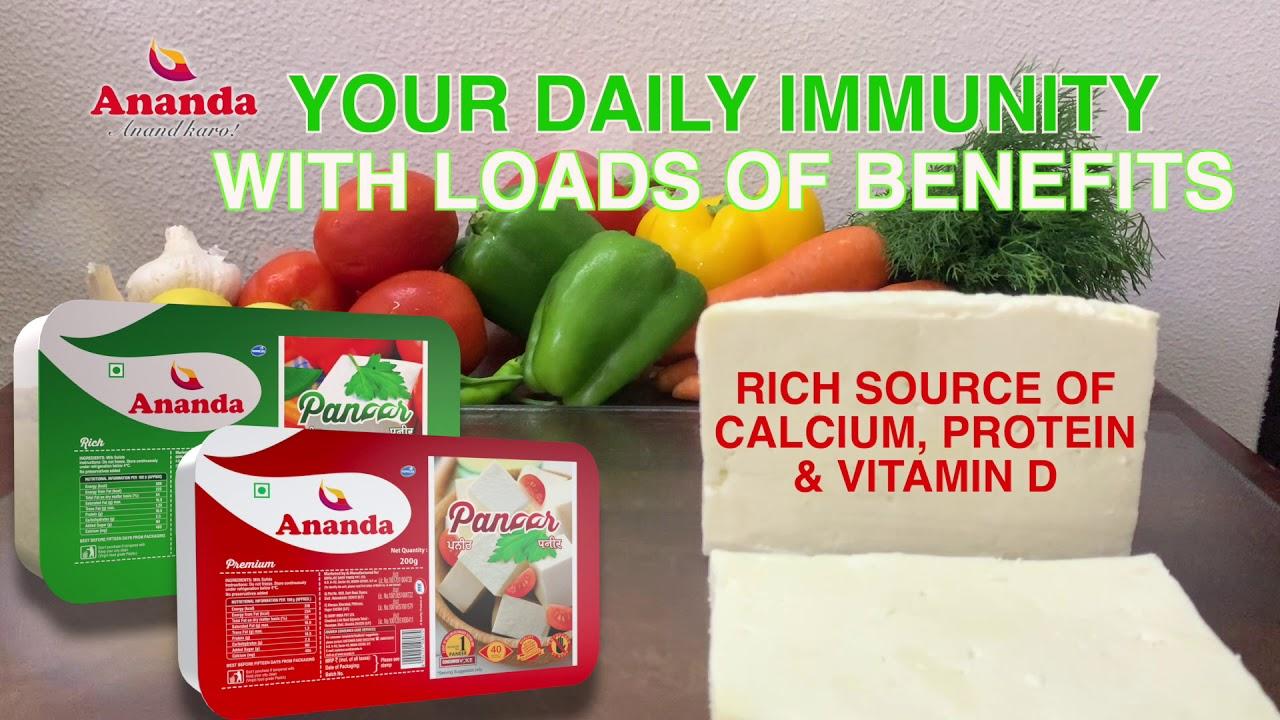 Benefits of Ananda Packed Paneer   Ananda Anand Kro