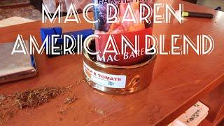 Обзор табака для самокруток MAC BAREN American Blend
