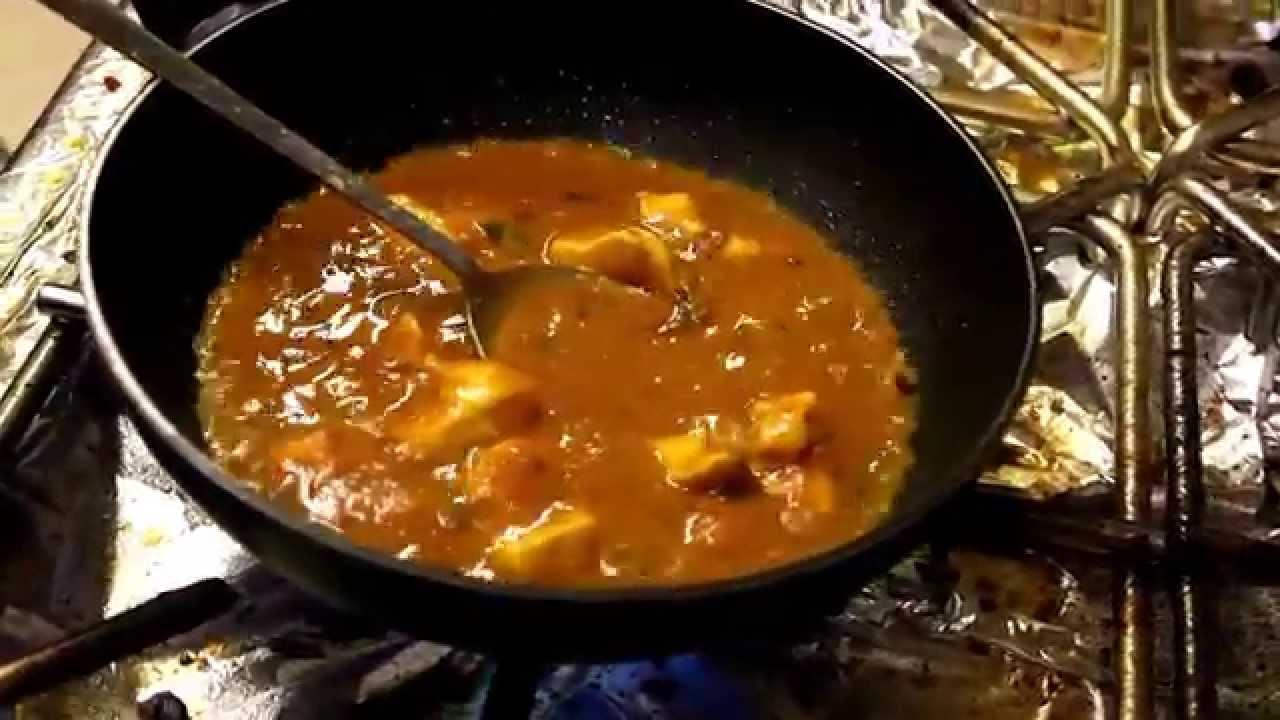 Chicken Madras Indiska Koket I Tyreso Youtube