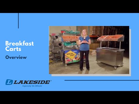 Lakeside Breakfast Carts Overview