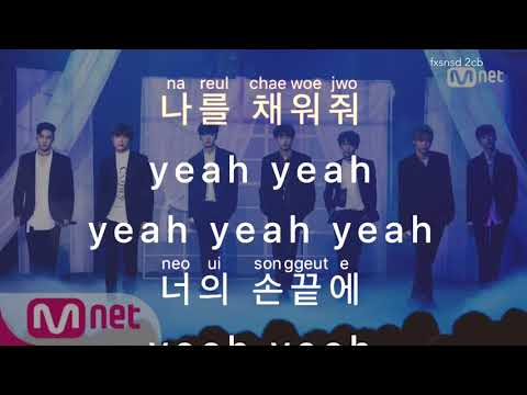 [KARAOKE] (PRODUCE 101 S2) KNOCK – OPEN UP (열어줘)