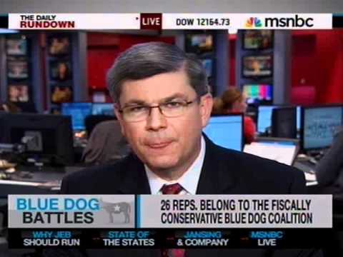 Rep. Ross Discusses Budget, Blue Dog Priorities on MSNBC