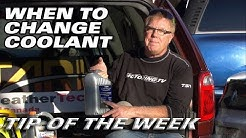 Tip of The Week: When to Change Coolant
