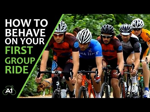 How to behave on your first group ride