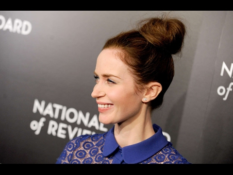 Emily Blunt Hot Blue Dress Video - National Board of Review Awards
