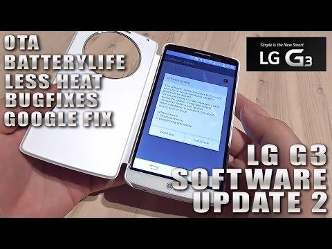 LG G3 Software Update (V10g-EUR-XX) / Power Management Improvement & Google Patch