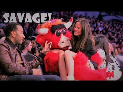 NBA SAVAGE MASCOT MOMENTS
