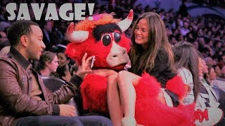 NBA SAVAGE MASCOT MOMENTS
