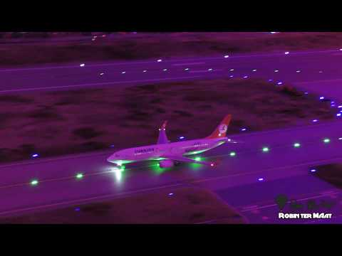 World's largest model airport Miniatur Wunderland Hamburg-- 4K -- May 2019-- Germany