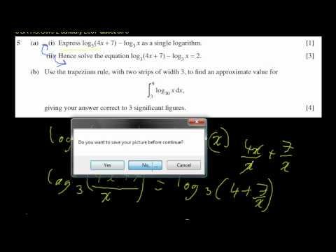Ocr terminal paper maths past
