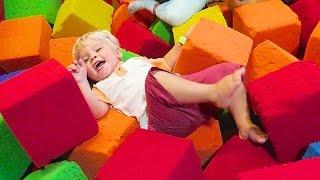 toddler foam pit tricks