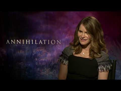 ANNIHILATION Jennifer Jason Leigh Interview