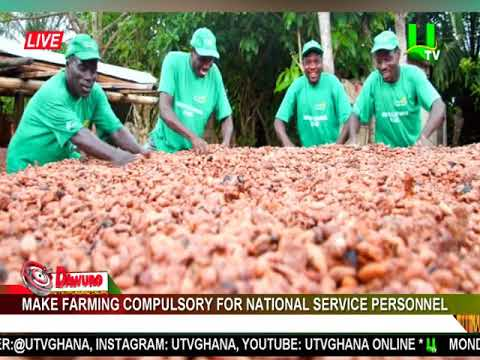Make farming compulsory for National Service Personnel