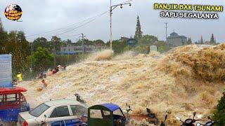 Download Banjir Bandang Menyeramkan Hanyutkan Warga & Pemukiman, Arusnya Bak T5un4mi // Banjir Dahsyat 2021