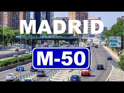 M-50 Madrid Ring Road - Beltway / Cinturón Área Metropolitana de Madrid  - Circunvalación Madrid
