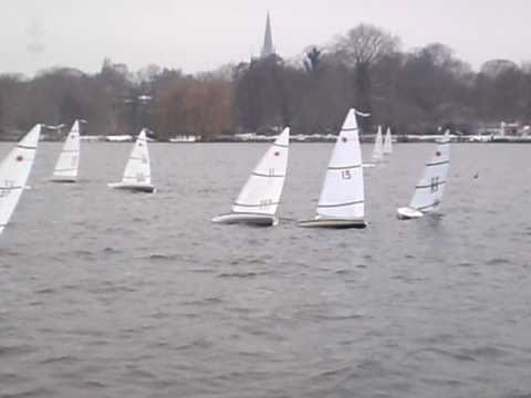 Mini Laser Cup 2011 Hamburg Rc Model Sailboat Race Youtube