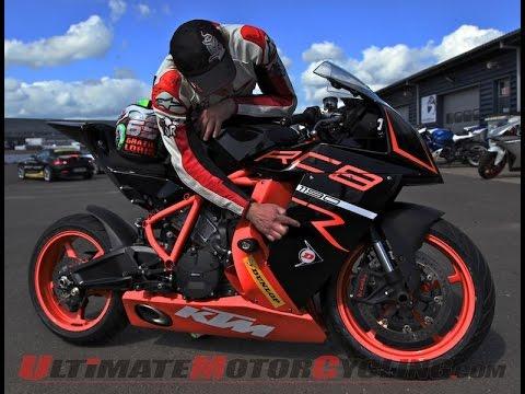 2014 KTM 1190 RC8 R - YouTube