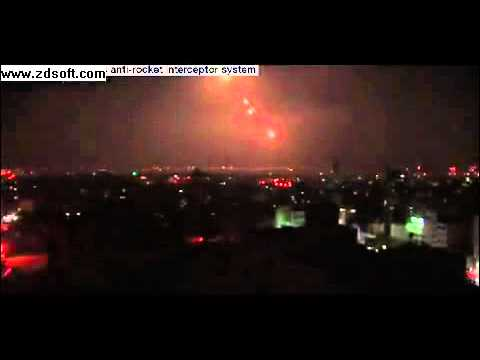 A night of Gaza rocket attacks on Israel