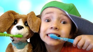 Are You Sleeping Brother John with toy dog and Ulyana | Morning Routine song