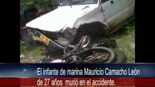Un muerto y un herido dejó accidente en la vía Charalá --Duitama.