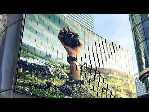 3D Robotic Billboard Advertising Digital Signage Display LED Moving Screen