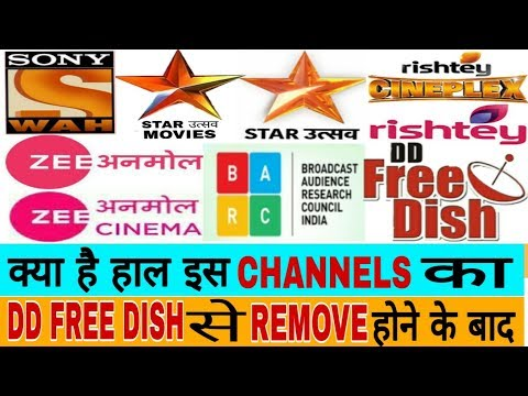 After Removing Channel From DD Free Dish