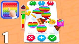 Fidget Toys Trading : fidget trade relaxing games - Gameplay Walkthrough Part 1 (Android & iOS) screenshot 1