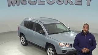A99191GT Used 2013 Jeep Compass Latitude 4WD SUV BlueTest Drive, Review, For Sale -