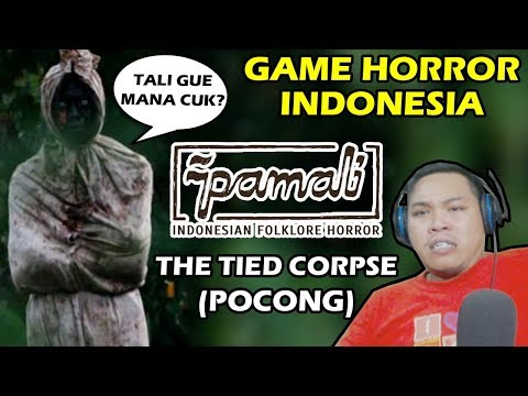 ANJAY!!! POCONG NYARI TALI - PAMALI (THE TIED CORPSE) GAME HORROR INDONESIA