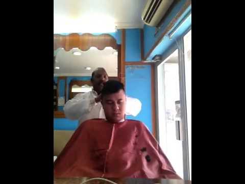 Indian head massage ..
