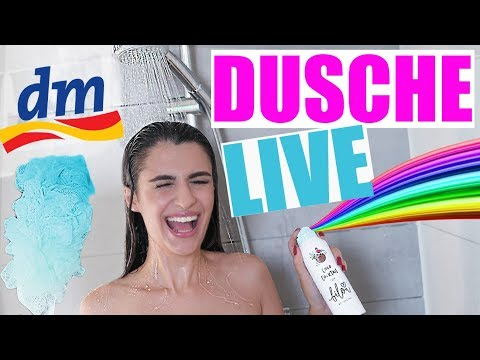 DM LIVE DUSCHE PRODUKTE TEST 🚿 BILOU & BALEA GETESTET | KINDOFROSY